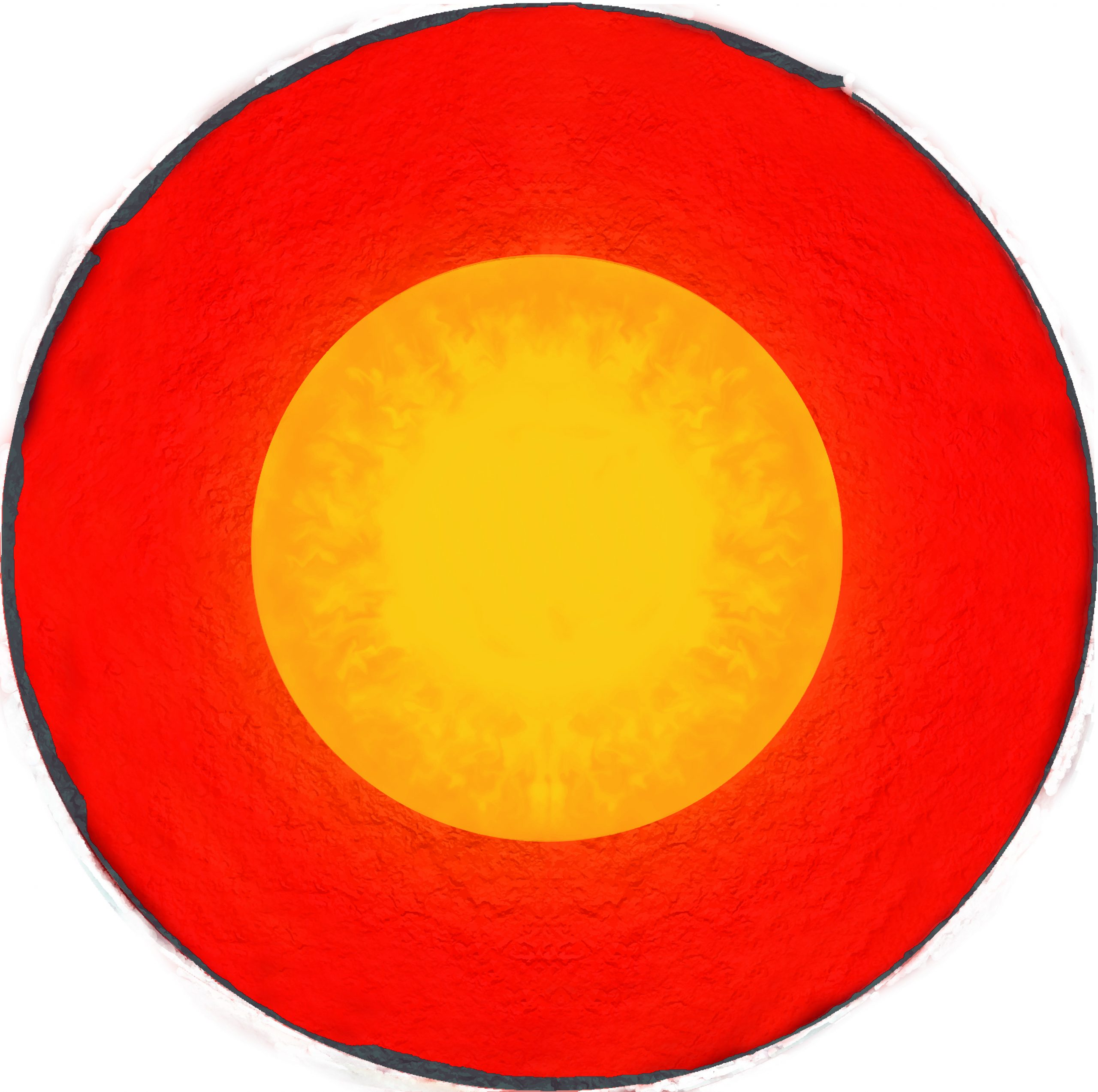 Discovery of the outer core: 1906